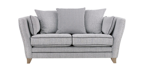 Athena 2 Seater Pillow Back Sofa 2 Seater Sofas- KC Sofas