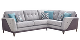 Daytona Right Hand Formal Back Corner Sofa Corner Sofas- KC Sofas