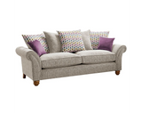 Vegas 3 Seater Pillow Back Sofa 3 Seater Sofas- KC Sofas