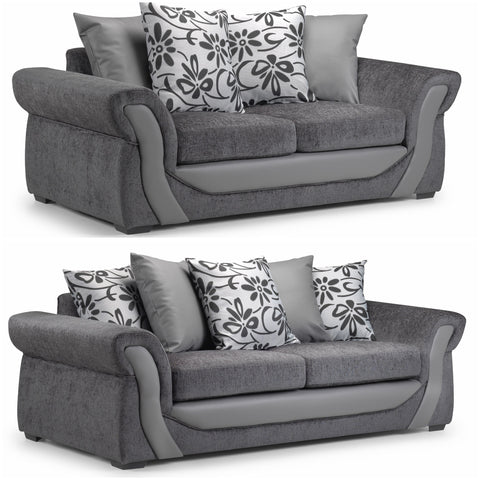 Swan 3 Seater & 2 Seater Sofa Set
