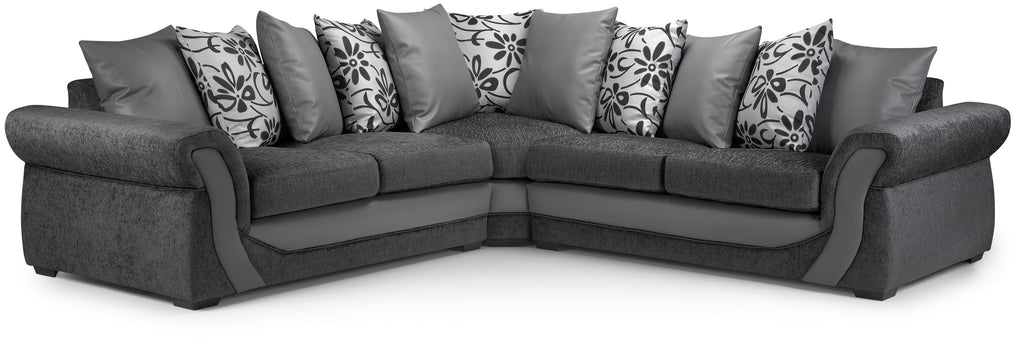 Brilliant Swan Large Corner Sofa Download Free Architecture Designs Embacsunscenecom