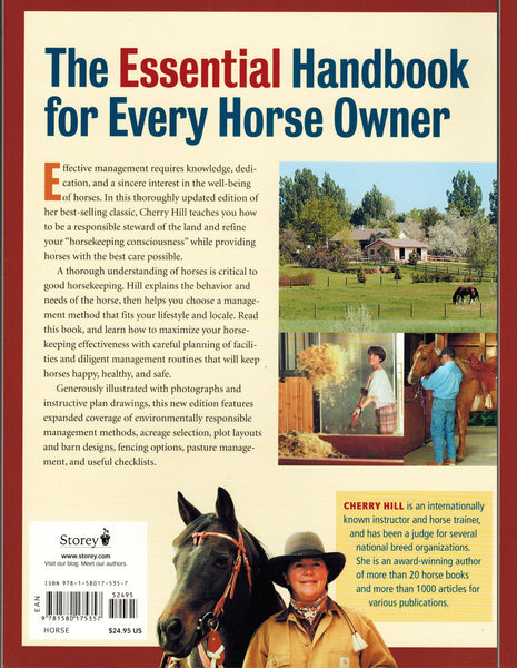 Horsekeeping On Small Acreage 2nd Edition - BooksOnHorses