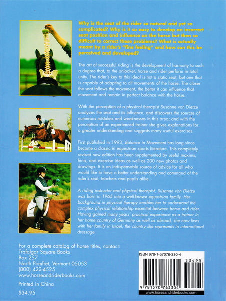 Balance in Movement  How to achieve the perfect seat, new edition - BooksOnHorses