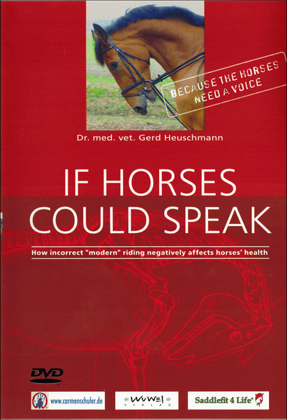 If Horses Could Speak DVD - BooksOnHorses