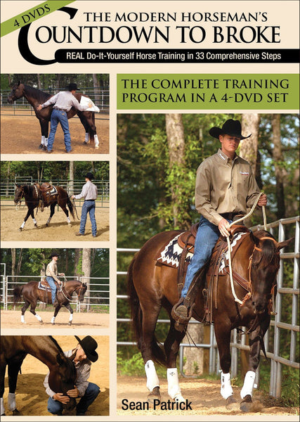 Modern Horseman's Countdown to Broke (4DVD Set) - DVD - BooksOnHorses  - 1