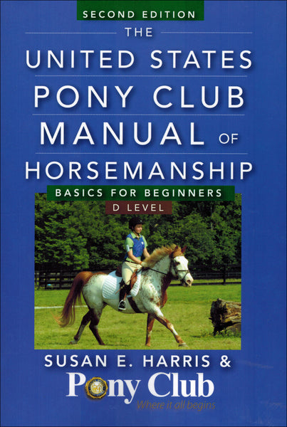USPC Manual Basic Beginners / D Level 2nd ED - Book - BooksOnHorses  - 1