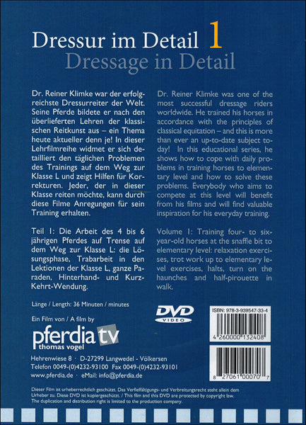 Dressage in Detail Combo Vols 1, 2 & 3 - DVD - BooksOnHorses  - 2