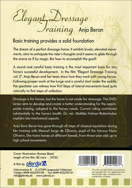 Elegant Dressage Training 2: Basic - BooksOnHorses