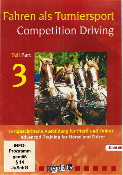 Competition Driving 3: Advanced - BooksOnHorses