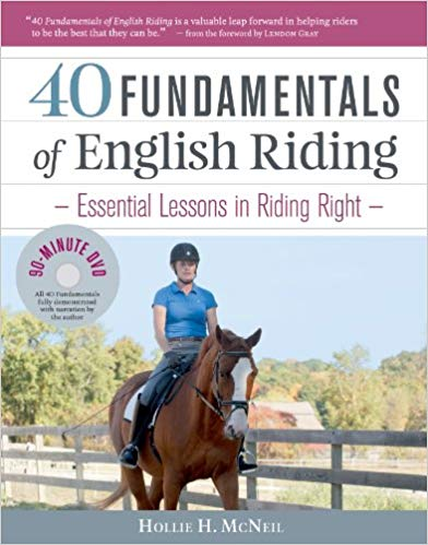 40 Fundamentals of English Riding: Book & DVD