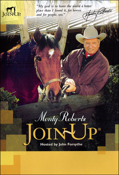 Monty Roberts Join-Up with John Forsythe - DVD - BooksOnHorses  - 1