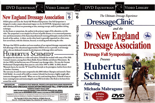 Hubertus Schmidt: Dressage Fall Symposium DVD