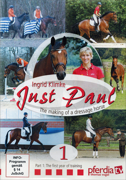 Just Paul, The Making of a Dressage Horse DVD