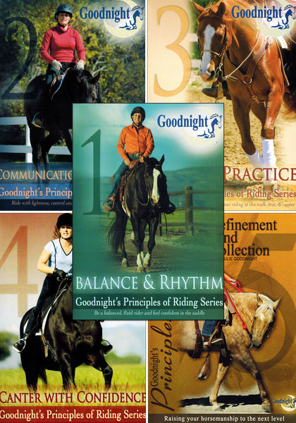 Julie Goodnight Complete Combo 1-5 - BooksOnHorses