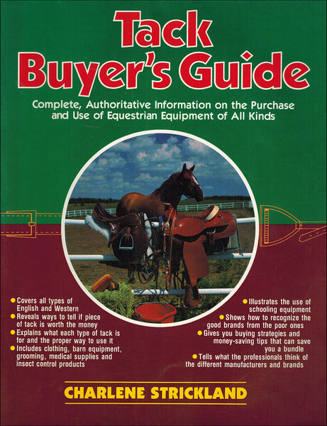 TACK BUYER'S GUIDE - BooksOnHorses