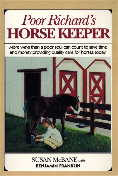 Poor Richard's Horse Keeper - BooksOnHorses