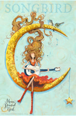 Songbird - Moon Bound Girl Poster