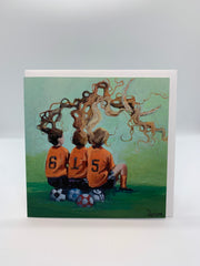 Soccer Girls - Note Card