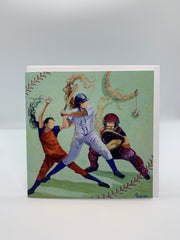 Softball - Note Card