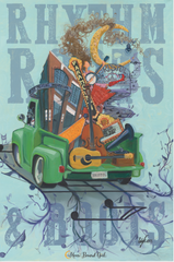 Rhythm Roots and Boots Poster