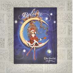 Believe Christmas - Wood Print