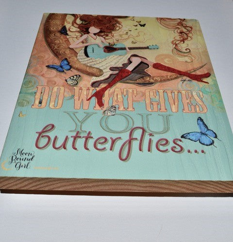 """Hair and Butterflies"" Poster"