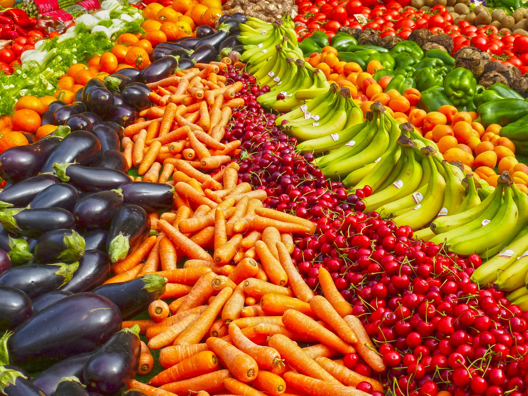 prostate health - fruits and veggies