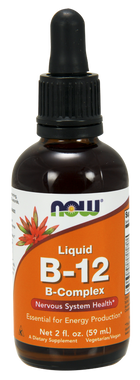 NOW Liquid B-12 B-Complex 60ML