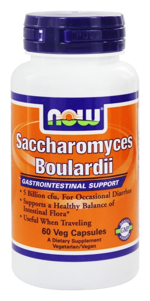 NOW Saccharomyces boulardi