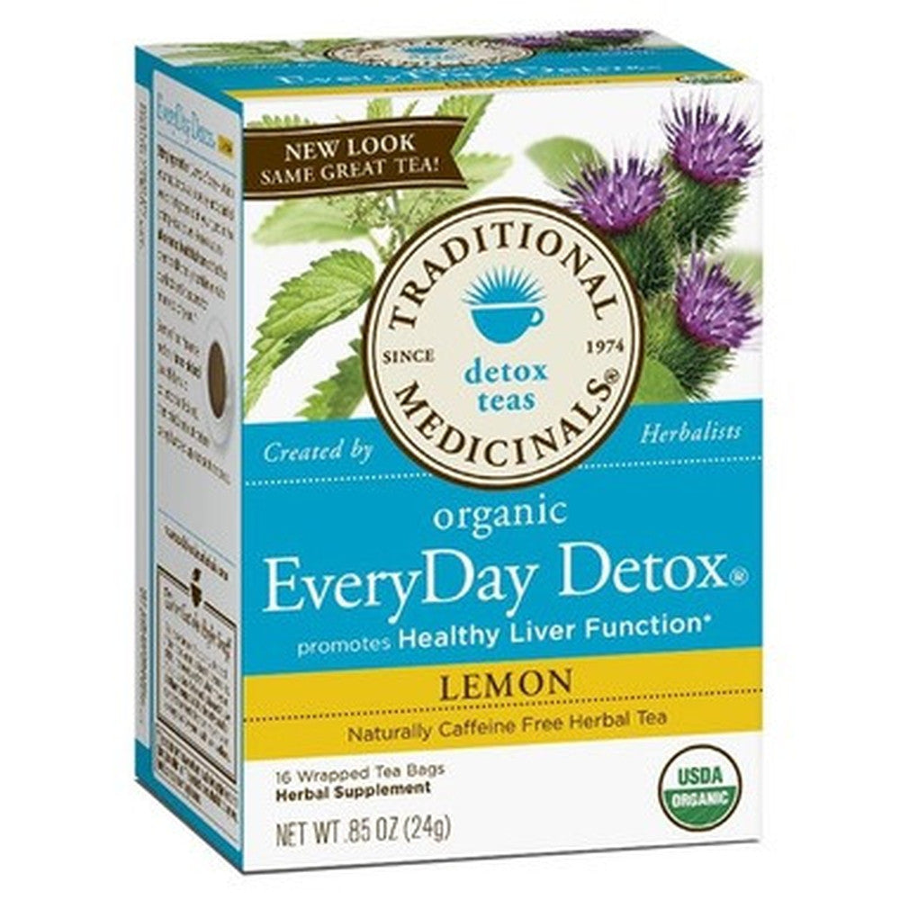 Traditional Medicinals Detox Tea, Organic, EveryDay Detox 20 Tea Bags