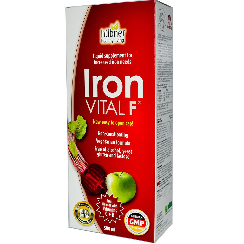 NAKA Iron Vital F Fruit Flavor 500ML