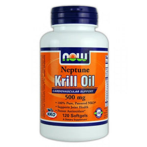 NOW Foods Neptune Krill Oil 500mg 120 Softgels