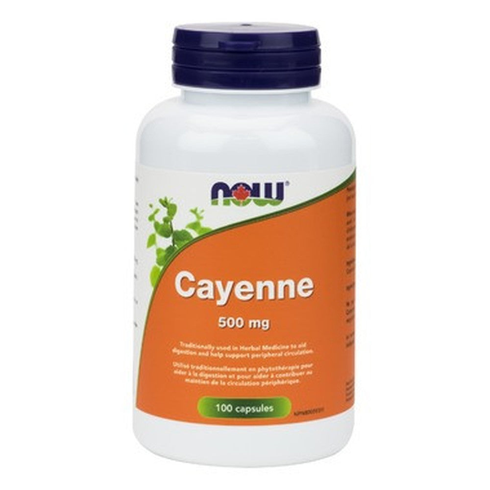 NOW Foods Cayenne 500MG 100 Caps