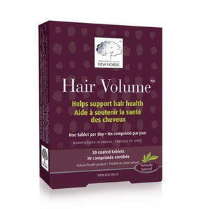 New Nordic Hair Volume, 30 Count
