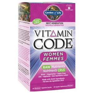 Garden of Life Vitamin Code Women 60 Caps