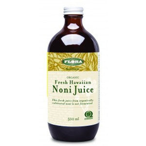 Flora Organic Fresh Hawaiian Noni Juice 500ML