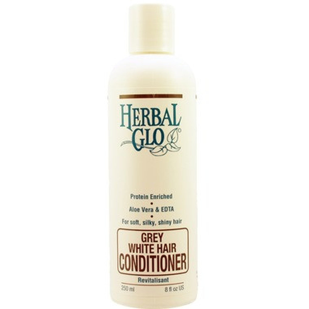 Herbal Glo Conditioner For Grey White Hair 250 ml