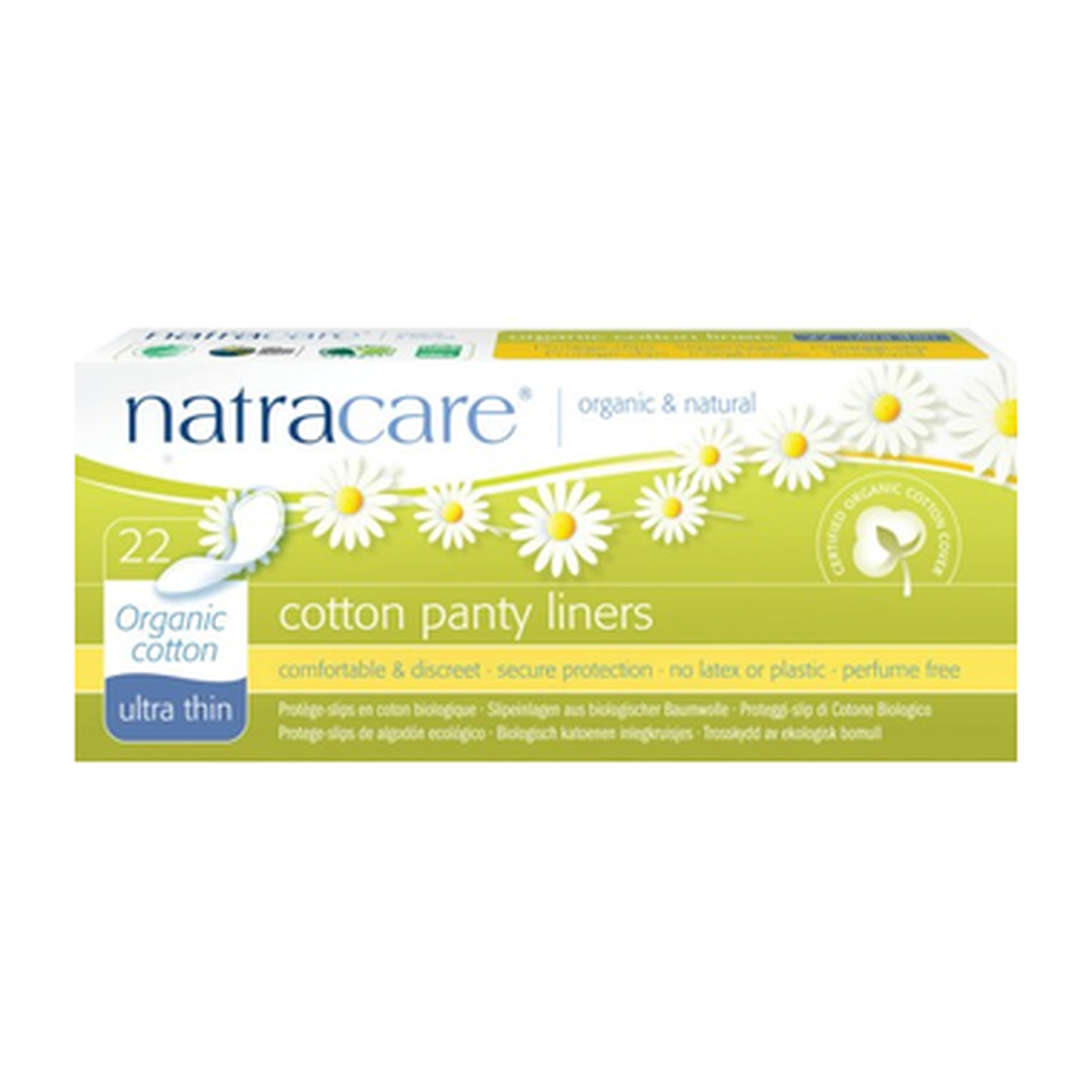 Natracare Organic Cotton Panty Liners 22 Liners