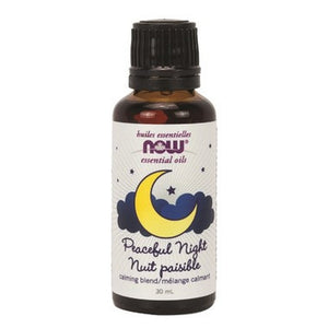 NOW Essential Oils Peaceful Night Blend 100% Pure 30ML