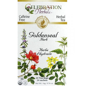 Celebration Herbals Golden Seal 24 bags ORG