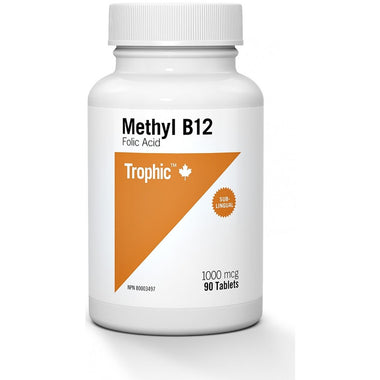 Trophic Methyl B12 1000 mcg 90 tabs