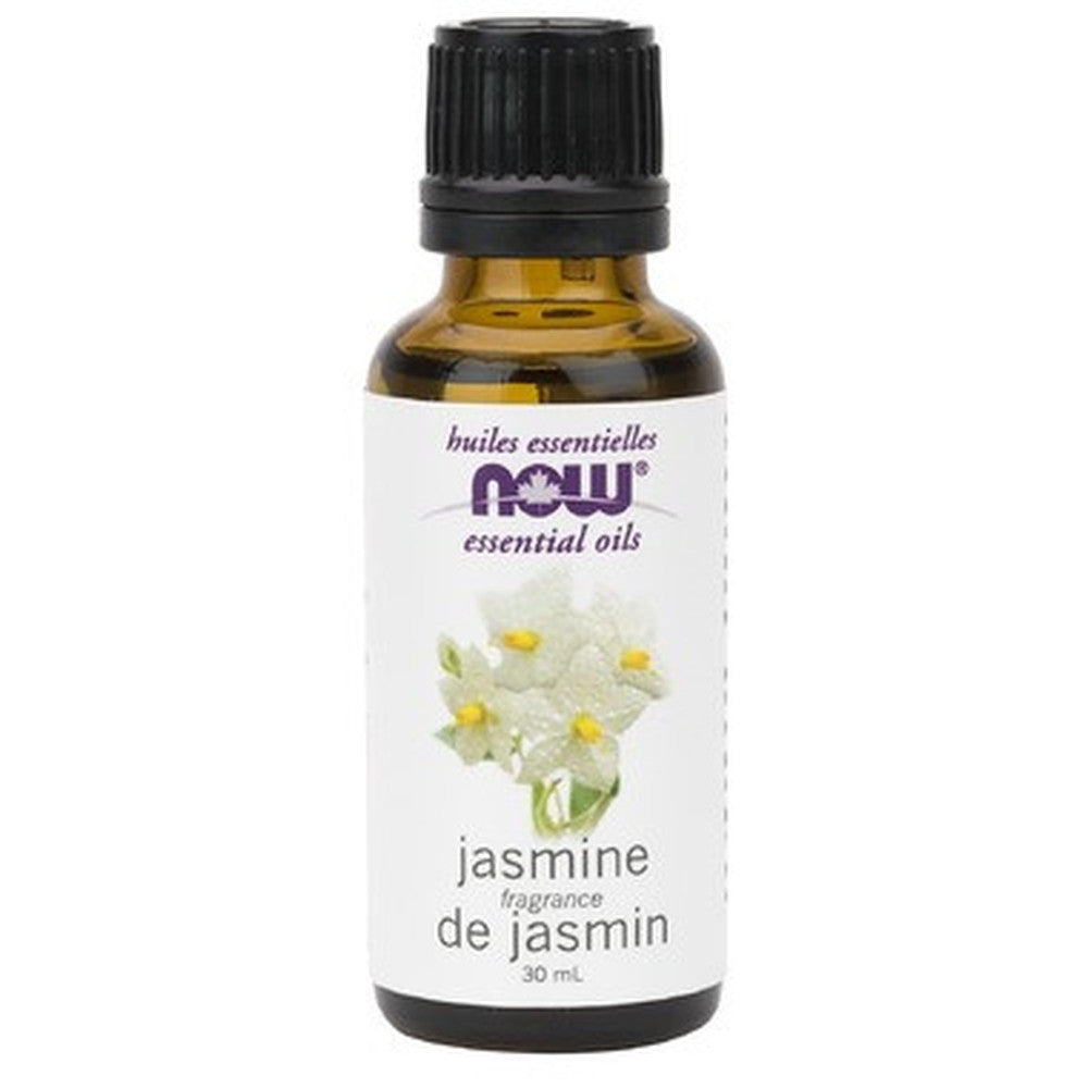 NOW Essential Oils Jasmine Oil 30Ml. - BACKORDER
