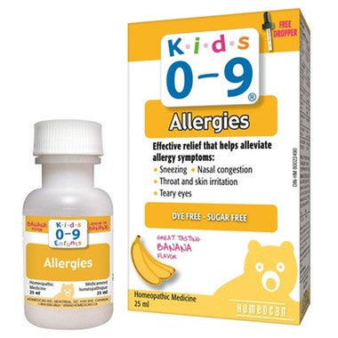 Homeocan Kids 0-9 Allergies Oral Solution