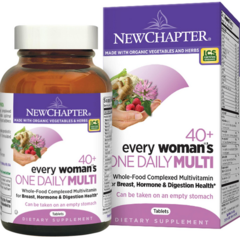 New Chapter 40+ Every Woman's One Daily Multi 72 Tablets
