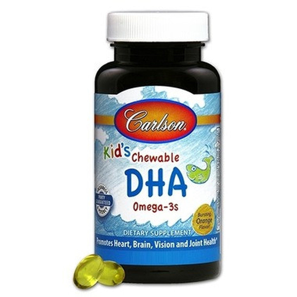 Carlson for Kids Chewable DHA 120 Softgels