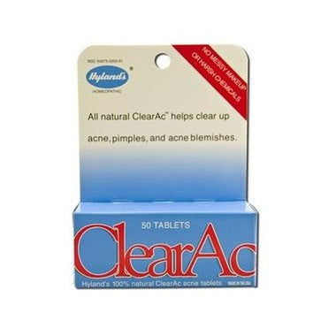 Hyland's Clear Ac 50 Tablets