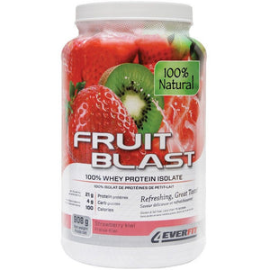 Parrie Naturals Forever Fit Fruit Blast 100% Natural Whey Protein Isolate 908G