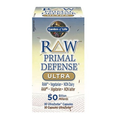 Garden of Life RAW Primal Defense Ultra 50 Billion 30 Caps