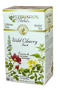 Celebration Herbals Wild Cherry Bark, 24 Tea bags
