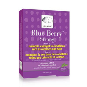 New Nordic Blue Berry Strong 60 Tabs